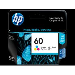 کارتریج جوهر افشان HP 60 Color طرح