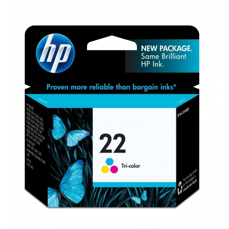 کارتریج جوهر افشان HP 22