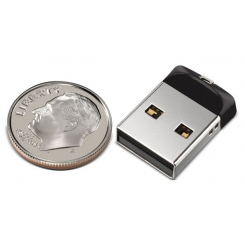 SanDisk Cruzer Fit 16GB Flash Memory