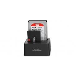 داک هارد 2.5 و 3.5 اینچ دو تایی هارد و SSD مدل ORICO 6629S3 2 Bay