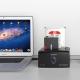 داک هارد و SSD دو تایی USB 3.0 و eSATA مدل ORICO 8628SUS3-C