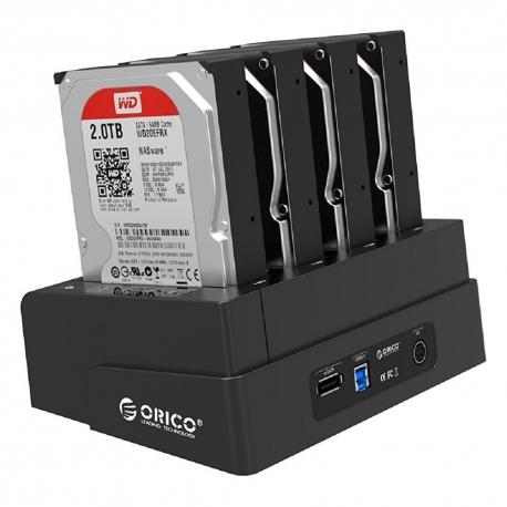 داک SSD و هارد 2.5 و 3.5 اینچ ORICO 6648US3-C 4Bay