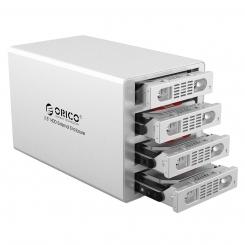 باکس حرفه ای SSD و هارد 3.5 اینچ ORICO 3549RUS3 4Bay
