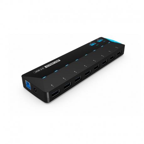 هاب USB3 ده پورت با آداپتور WL-UH3101 ویولینک