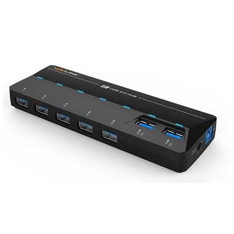هاب USB3 هفت پورت با آداپتور WL-UH3073D ویولینک