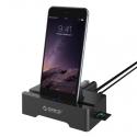 هاب ۳ پورت USB 3.0 و ۲ پورت شارژ و کارت ریدر ORICO HSC3-TS