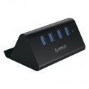 هاب ۴ پورت USB3.0 با استند ORICO SHC-U3