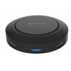 هاب USB 3.0 و شارژر بی سیم ORICO HCP-5US