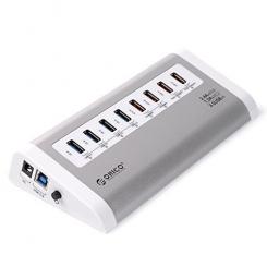 هاب USB 3.0 و سوپر شارژر فلزی ORICO UH4C4
