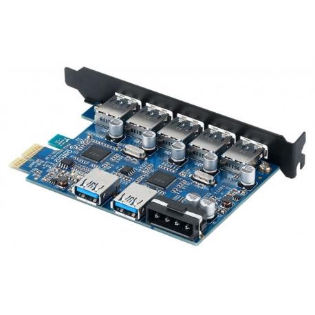 کارت PCI-E اینترنال ۵ پورت USB 3.0 اوریکو ORICO PVU3-5O2U
