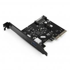 کارت PCI-E اینترنال ۲ پورت USB 3.1 با پورت Type-C مدل ORICO PA31-AC