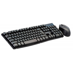 Farassoo FCM-8282RF BLACK Wireless Keyboard and Mouse