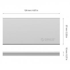 باکس SSD M.2 دارای Raid مدل ORICO DM2-RC3