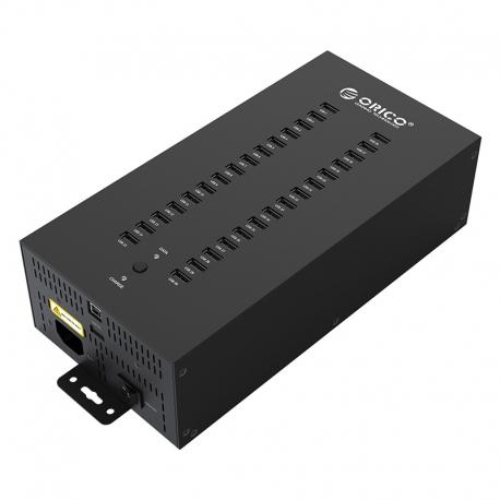 هاب صنعتی USB با ۳۰ پورت ORICO IH30P