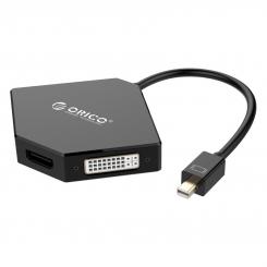 تبدیل Mini DisplayPort به HDMI+DVI+VGA اوریکو مدل ORICO DMP-HDV3S