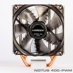 Green Notus 400-PWM CPU Cooler - Intel & AMD