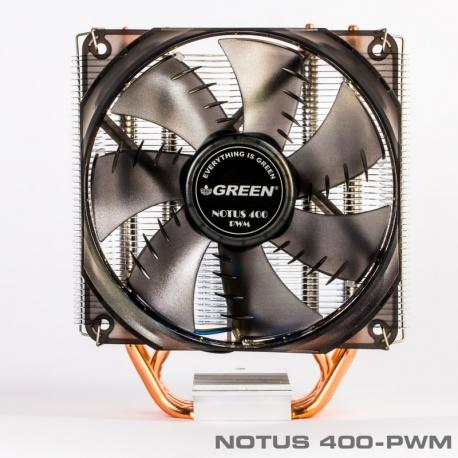 خنک کننده پردازنده نوتوس 400 فن گرین