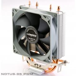 خنک کننده پردازنده / فن سی پی یو گرین Notus 95 PWM