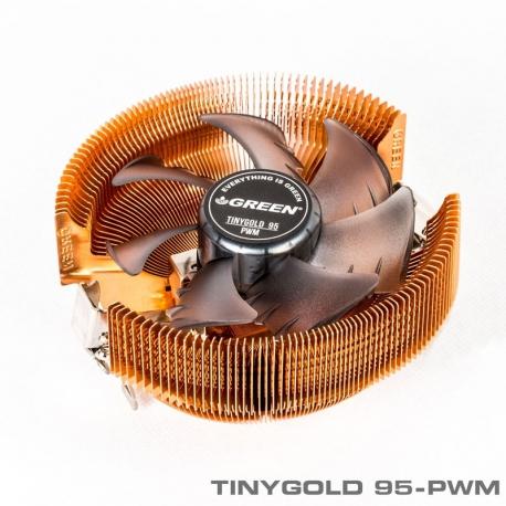 خنک کننده پردازنده / فن سی پی یو گرین TinyGold-95 PWM