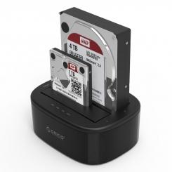 داک هارد و تبدیل ساتا به USB مدل ORICO 6228US3-C