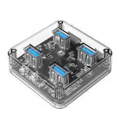 هاب 4 پورت USB 3.0 شفاف ORICO MH4U-U3