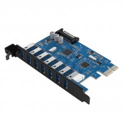کارت USB PCI-E هفت پورت ORICO PVU3-7U-V1