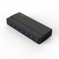 هاب 7 پورت USB3.0 با آداپتور ORICO H7928-U3-V1