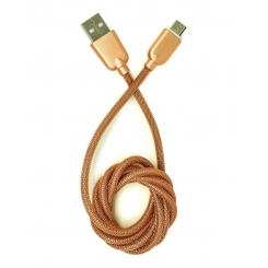 کابل تبديل USB به microUSB تسکو مدل TC73 طول 1 متر - طلائی