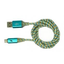 کابل تبديل USB به microUSB تسکو مدل TC73 طول 1 متر - آبی