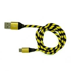 کابل تبديل USB به microUSB تسکو مدل TC49 طول 1 متر - زرد