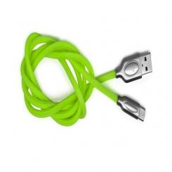 کابل تبديل USB به microUSB تسکو مدل TC45 طول 1 متر - سبز