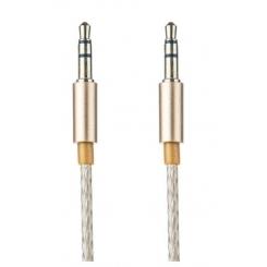 کابل انتقال صدا 3.5 ميلي متري 1 به 1 تسکو مدل TC91 سفید 1 متر