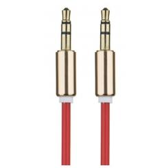 کابل انتقال صدا 3.5 ميلي متري 1 به 1 تسکو مدل TC93 طول 1 متر - قرمز