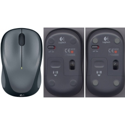 Logitech M235 Wireless Mouse - Gray