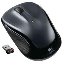 Logitech Wireless M325 Mouse - Drak Silver