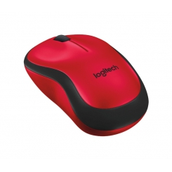 Logitech M220 Wireless Mouse Red