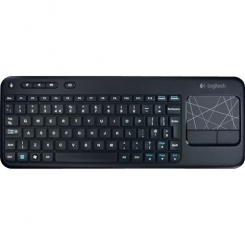 Keyboard K400 Cordlesss Touch Dark Grey