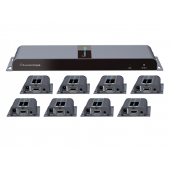HDMI Extender And Splitter 1 to 8 Lenkeng LKV718PRO