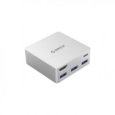 هاب پنج پورت USB-C اوريکو CDHU3