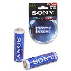 باتری نیم قلمی سونی SONY Stamina Plus بسته ۲ عددی