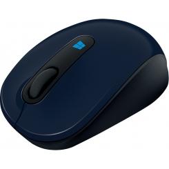 ماوس اسکالپت موبایل مایکروسافت آبی