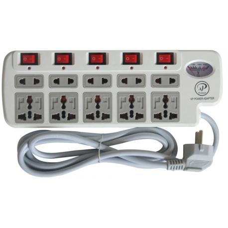 چندراهی برق و محافظ ایکس پی مدل 10PORT