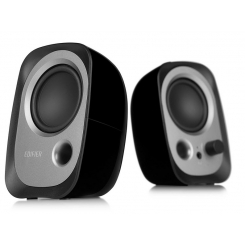 Edifier R12U Stereo Computer Bookshelf Active Speakers - Black
