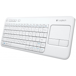 Keyboard K400 Cordlesss Touch White