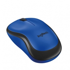 Logitech M220 Wireless Mouse Blue