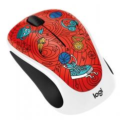 Logitech M238 Doodle Champion Coral Wireless Mouse