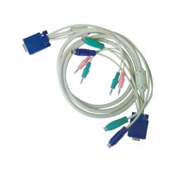 کابل KVM همراه کابل صدا نر / ماده 1.8 متر فرانت