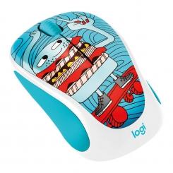 Logitech M238 Doodle Skateburger Wireless Mouse