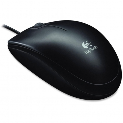 Mouse Logitech B100 Optical USB Black