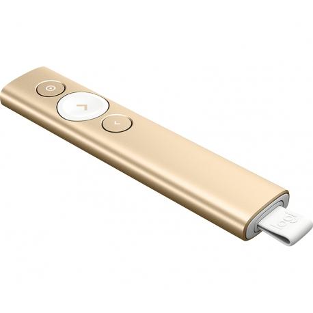پرزنتر لاجیتک SPOTLIGHT SLATE طلایی